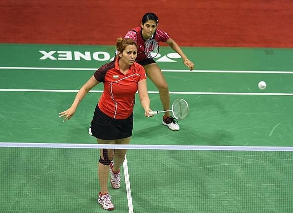 Badminton Asia Championships: Jwala Gutta and Ashwini Ponnappa eliminated in the first round