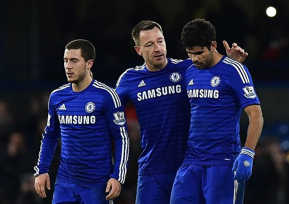 Six Chelsea players named in the PFA Team of the Year