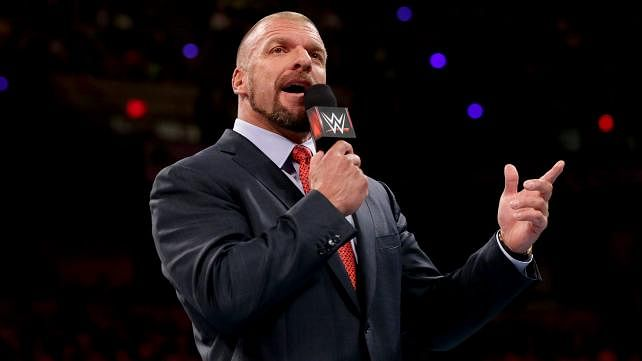 Triple H talks about the misconception that he undermines other talent