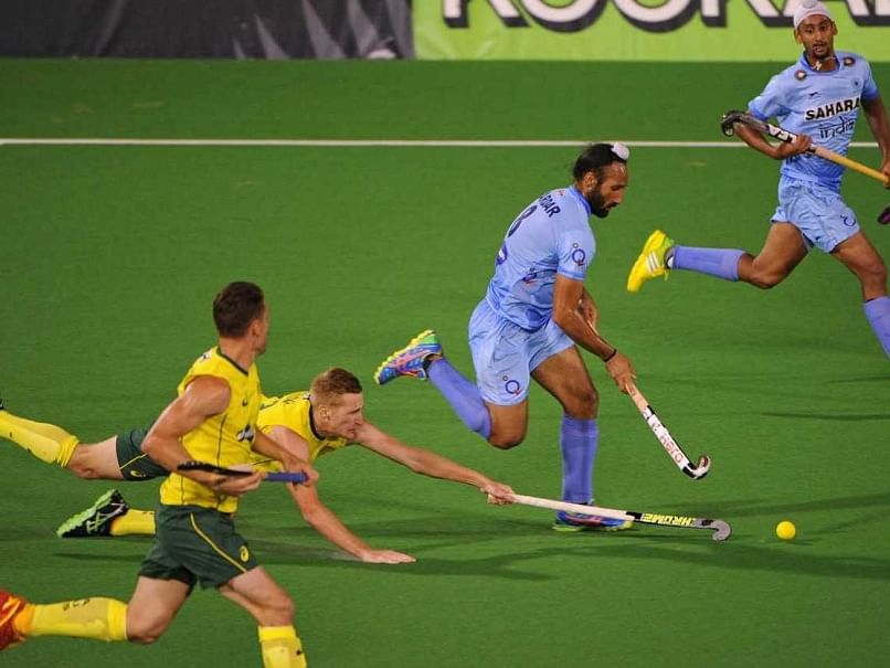 India ride on Nikkin\'s hat-trick to stun world champions Australia 4-2
