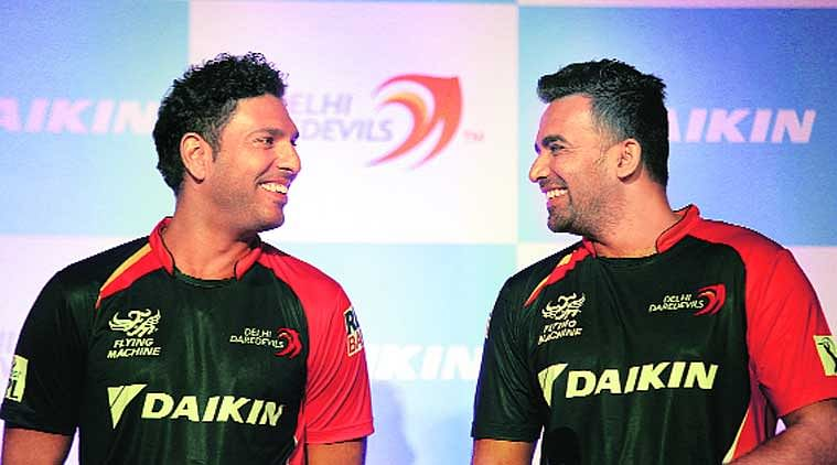 Yuvraj Singh and Zaheer Khan plot comebacks to Indian team through IPL 8