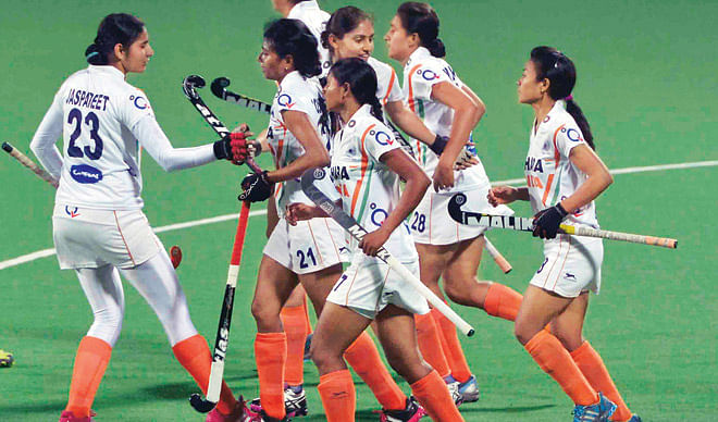 Indian eves stun 10th ranked Japan 3-2