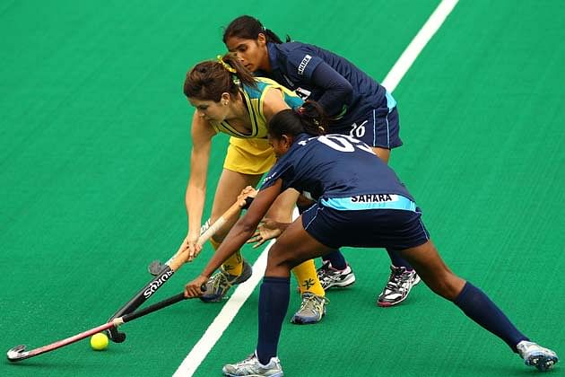 Outstanding Indian hockey eves draw 0-0 with mighty Australia