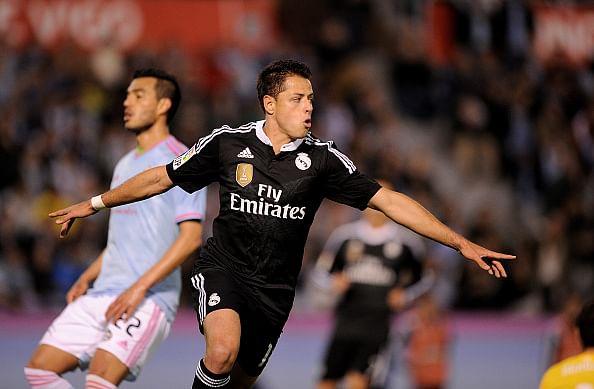 Highlights: Celta Vigo 2-4 Real Madrid, Javier Hernandez's brace keeps pressure on Barcelona