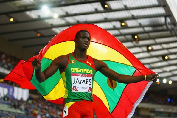 Kirani James smashes meet record in 400m