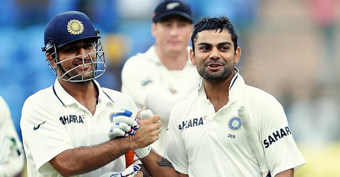Virat Kohli should follow MS Dhoni's example as captain: Steve Waugh