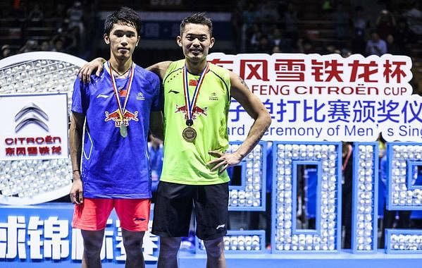 Lin Dan wins Badminton Asia Championships with a comfortable win over Tian Houwei