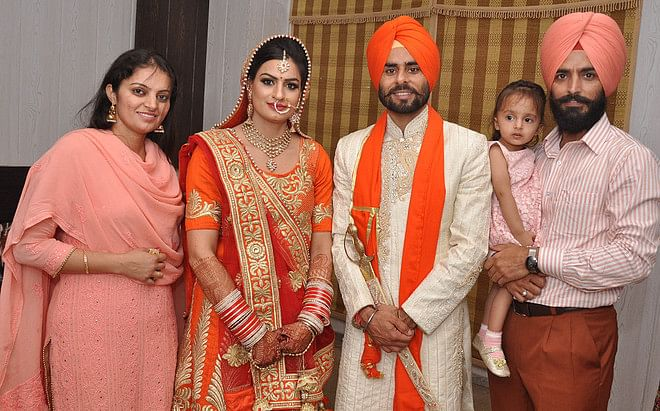 Indian hockey team forward Gurwinder Singh Chandi marries runner Manjeet Kaur