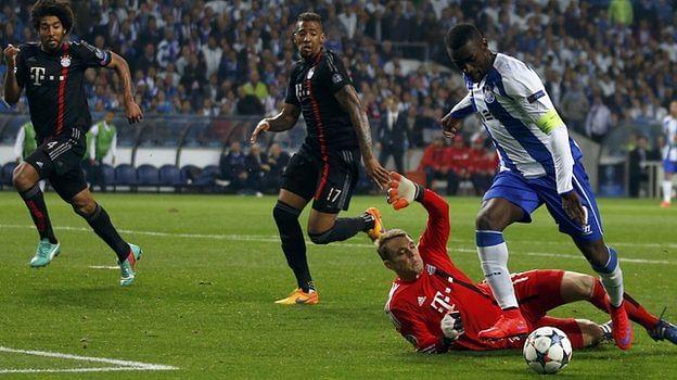 FC Porto vs Bayern Munich - Player Ratings