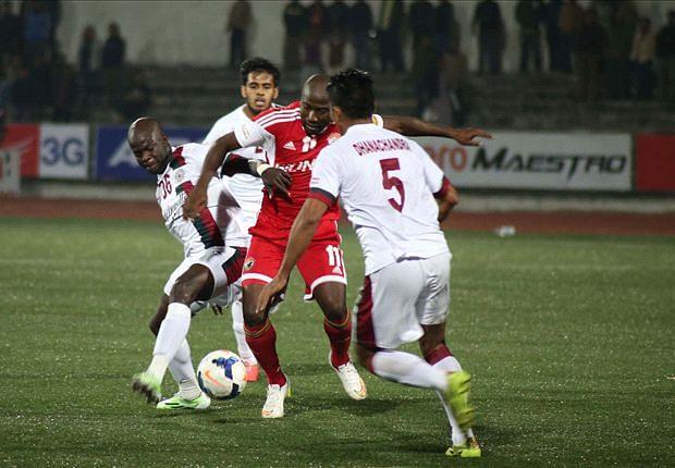 I-League: Mohun Bagan and Shillong Lajong FC play a 0-0 stalemate