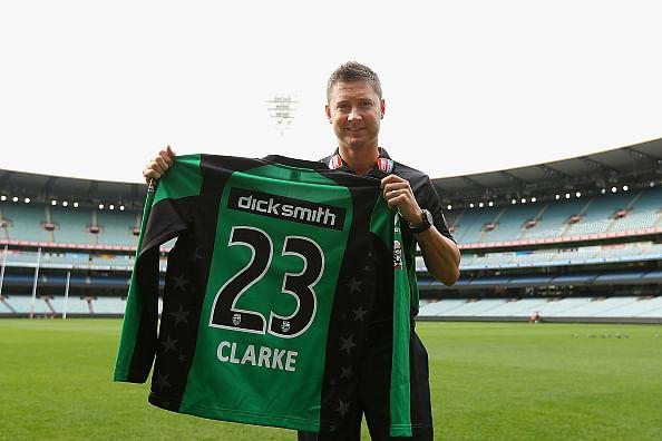 Michael Clarke to captain Melbourne Stars in Big Bash League