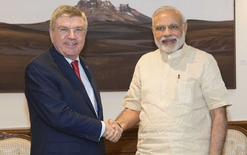 Narendra Modi confirmed India will not bid for 2024 Olympics: IOC President