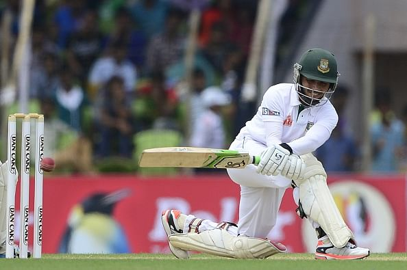 Bangladesh steady despite late Pakistan fight-back in first Test