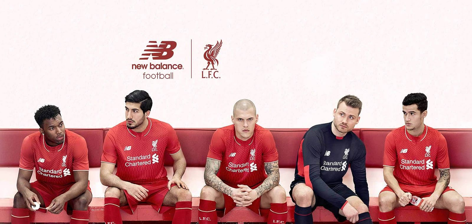 Liverpool's new home kit for the 2015-16 season released