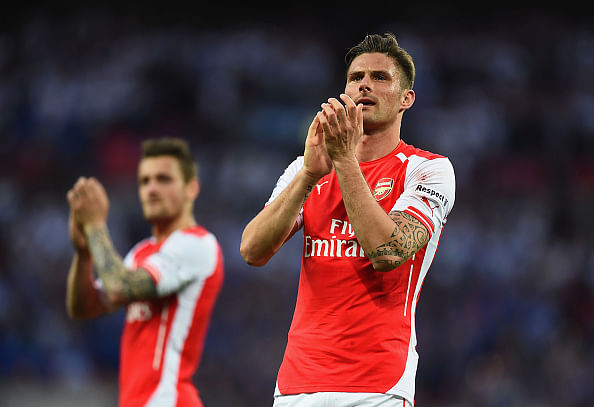Arsenal will not copy Chelsea's style: Olivier Giroud