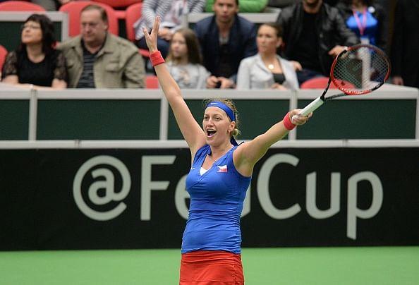 Czech Republic beat France 3-1 in Fed Cup semifinal