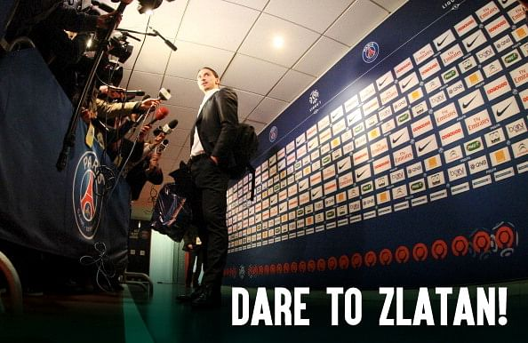 #DareToZlatan - 7 instances when Zlatan Ibrahimovic owned reporters with his witty replies