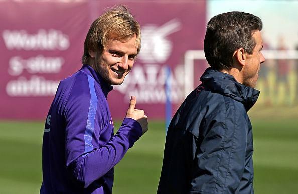 Scoring first has calming effect, says Barcelona's Ivan Rakitic