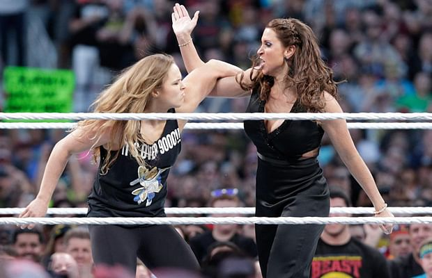 Ronda Rousey and Stephanie angle at Hell In A Cell? Possible huge feud at WM 32, more