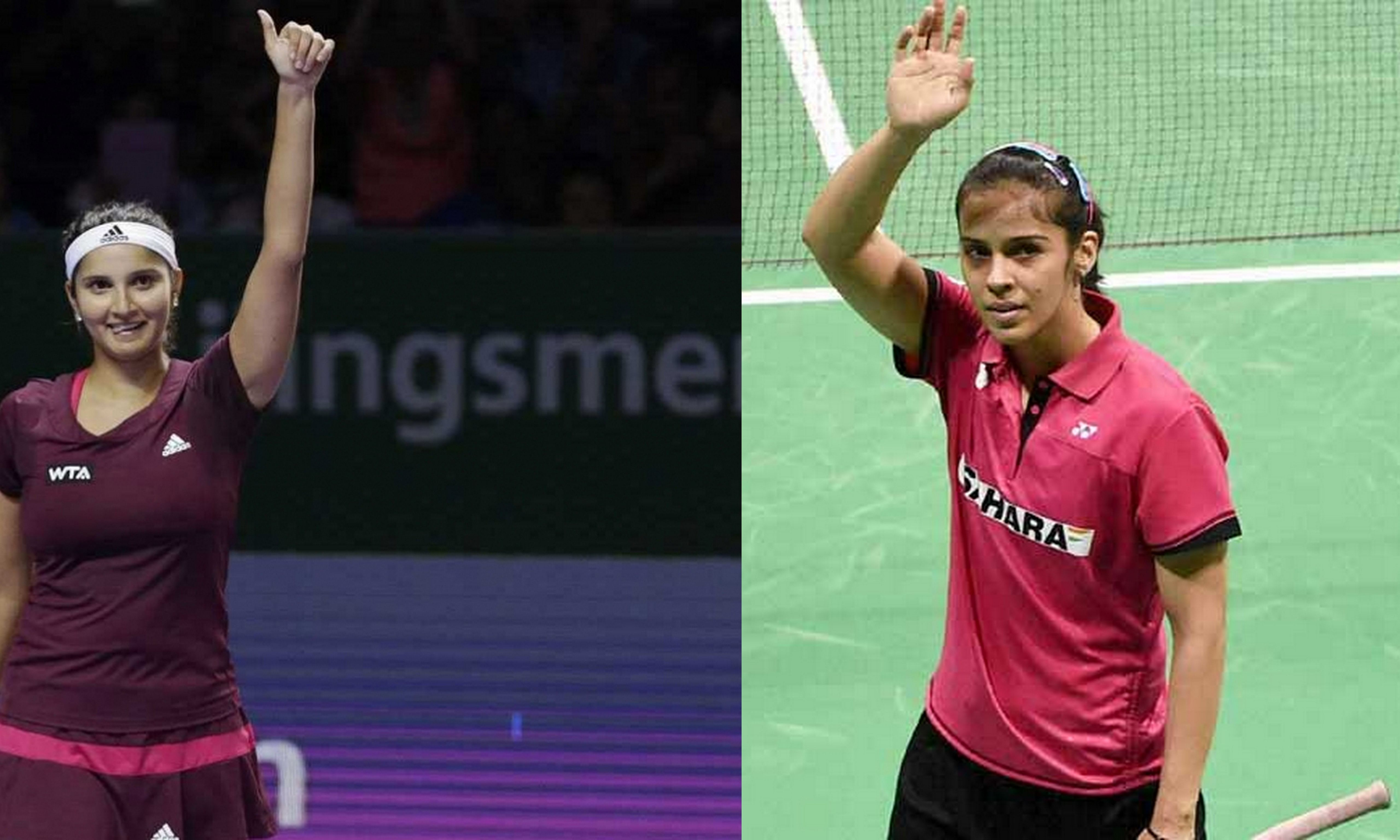 Saina Nehwal and Sania Mirza - The racquet queens from India