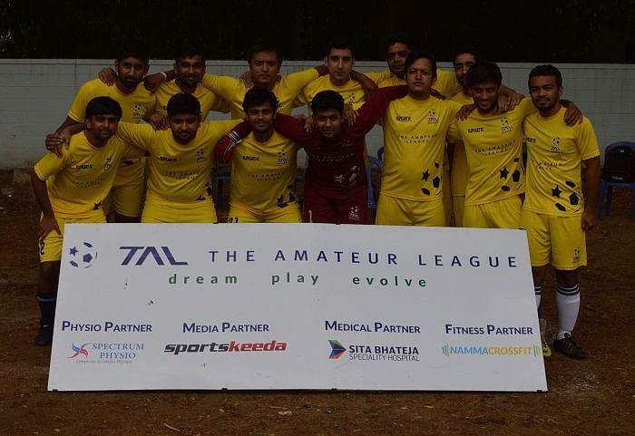The Amateur League: Horizons FC score 7 goals to go top of Division 1 table