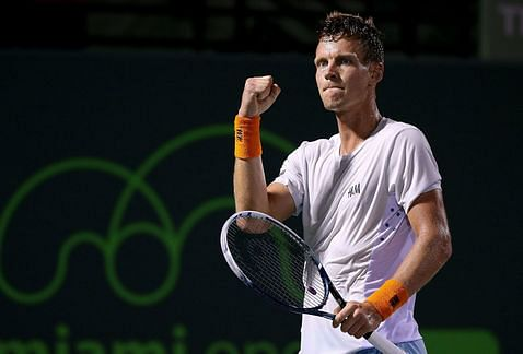 Miami Open: Tomas Berdych sets up semi-final clash with Andy Murray