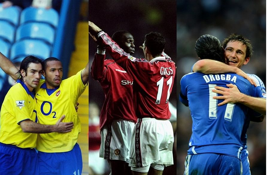 Top 10 Premier League goalscorer-assist combinations of all time