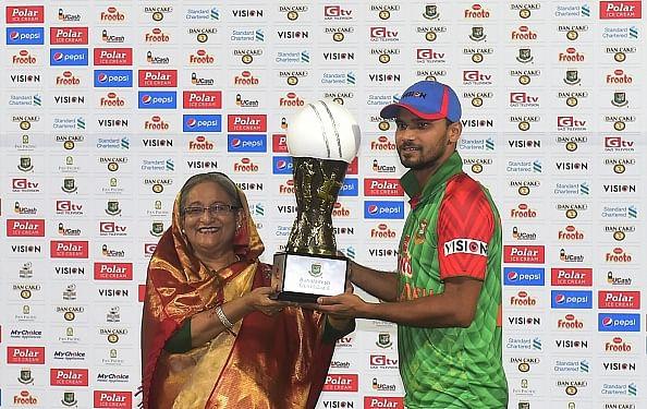 Can't ask for more: Bangladesh captain Mashrafe