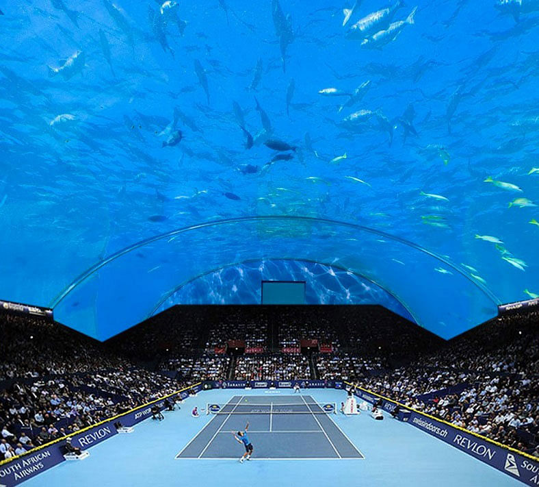 Underwater tennis stadium could be a reality in Dubai