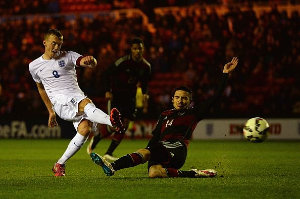 England U-21s score a sensational 35-pass, 11-player winner that must have shocked the Germans