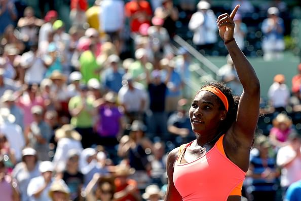 Serena through to Miami Open semi-finals after registering 700th career win