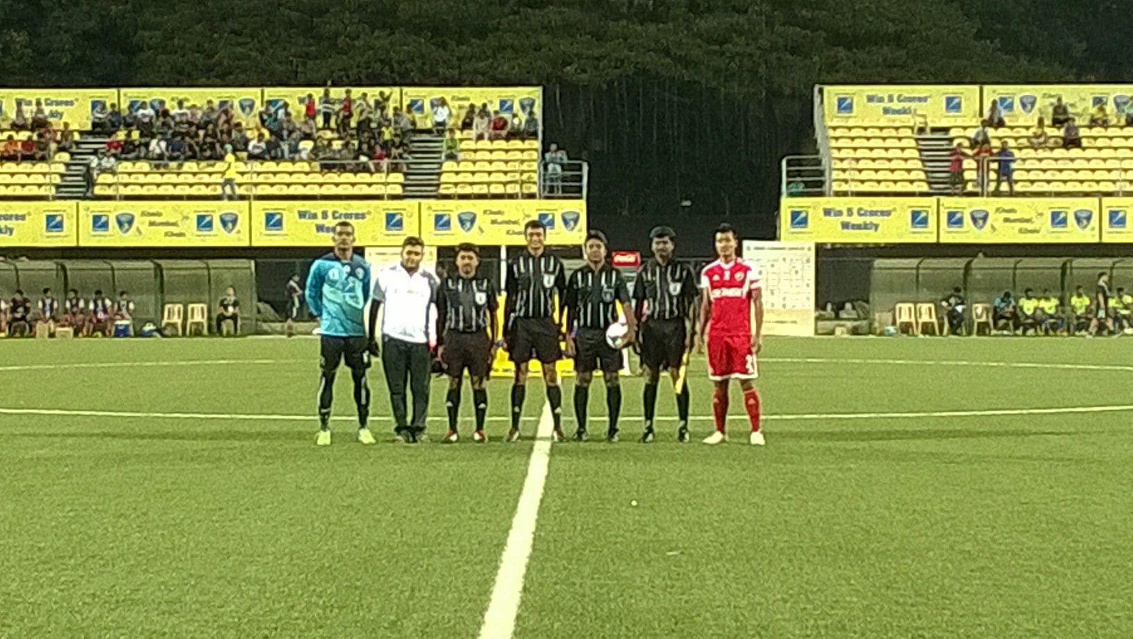 Mumbai FC 0-6 Shillong Lajong; The Reds hit a six away from home