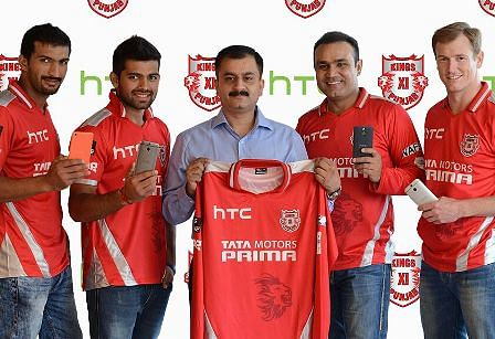 Kings XI Punjab Team Jersey