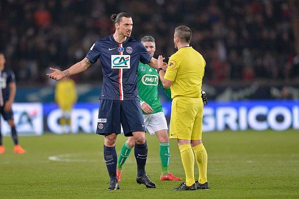 Zlatan Ibrahimovic responds to four-match ban