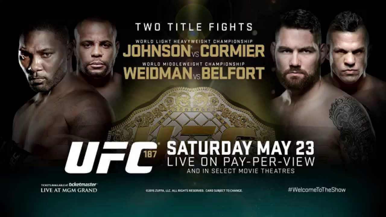 UFC 187: Johnson vs. Cormier -