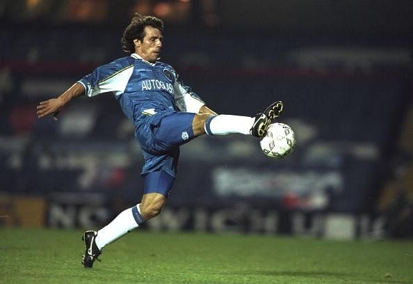 Cult figure Gianfranco Zola picks his all time best Chelsea XI