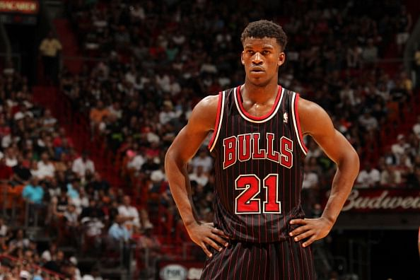 Chicago Bulls guard Jimmy Butler named KIA NBA Most Improved Player of the season