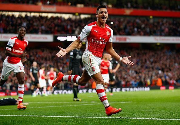 Alexis Sanchez voted PFA fans' player of the season