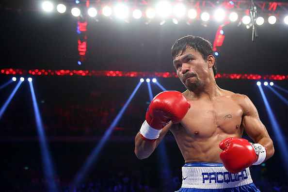 Filipino boxer Manny Pacquiao undergoes shoulder surgery