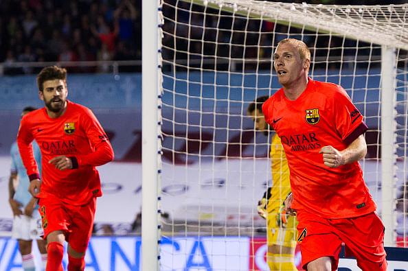 Barcelona defender Jeremy Mathieu to miss tie against Bayern