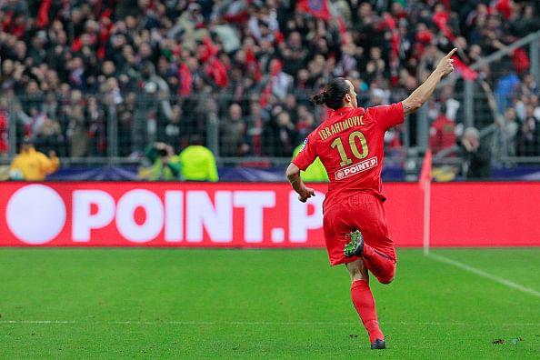 Ibrahimovic eyeing PSG's all-time top goalscoring record