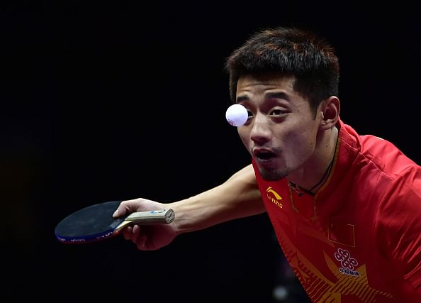 China secures men's and women's singles golds at the World Table Tennis Championships