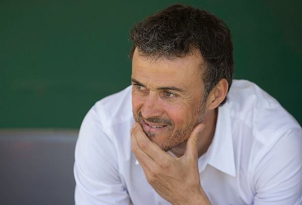 Luis Enrique focused on next two weeks and not next season
