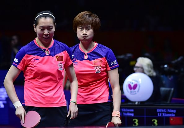 China sweeps six spots in women's quarters at World Table Tennis Championships