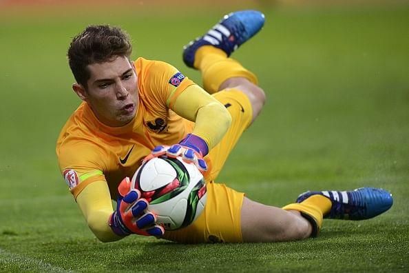 Video: Zidane jr. Luca misses Panenka attempt but saves three penalties
