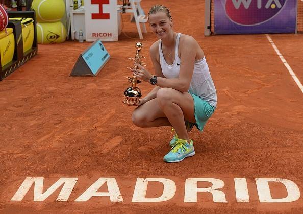 Petra Kvitova crowned women's champion in Madrid Open