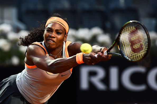 Serena Williams withdraws from Rome Masters with elbow injury