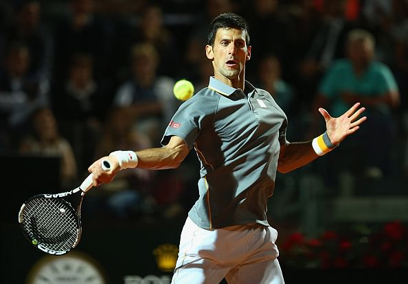 Novak Djokovic topples Thomaz Bellucci to reach Italian Open quarter-finals