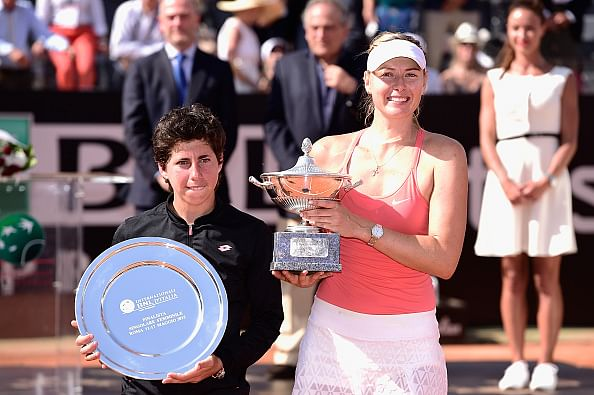 Maria Sharapova wins third Rome Masters title