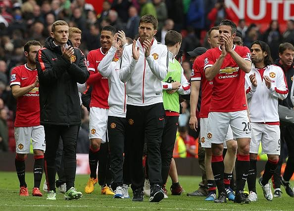 Manchester United season review and ratings 2014/15